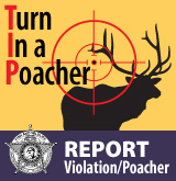 Report a Poacher or Other Violation